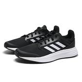 ADIDAS 慢跑鞋 GALAXY 5 黑白 網布 運動 休閒 男(布魯克林) FW5717