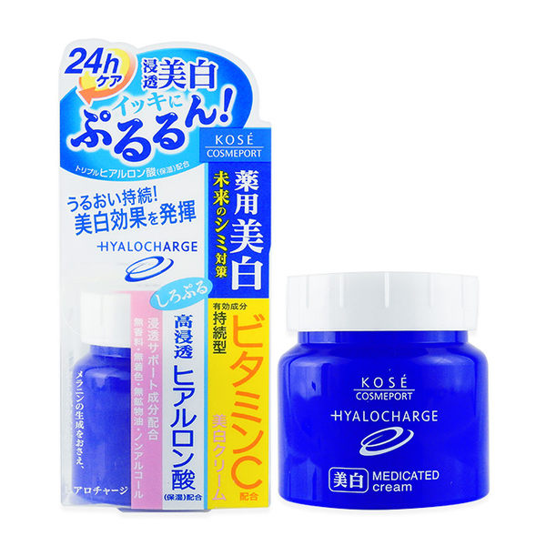 日本 KOSE 高絲 HYALOCHARGE 玻尿酸透潤 美白乳霜 60g ◆86小舖 ◆