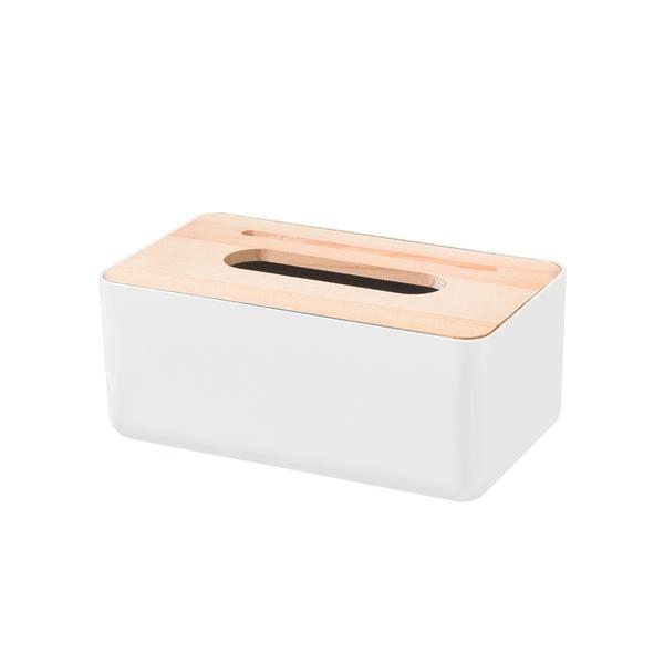 「指定超商299免運」多功能面紙盒 衛生紙盒 面紙盒 紙巾盒 置物盒 木質 簡約 [品WAY+]【F0495】