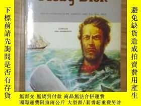 二手書博民逛書店英文原版罕見Moby Dick by Herman Geisma