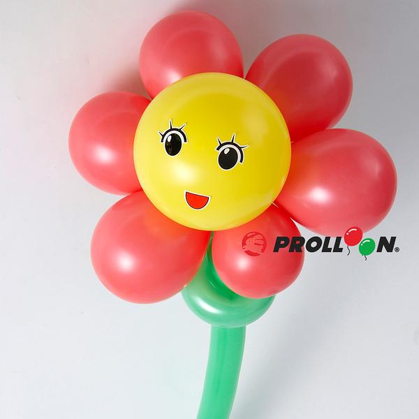 【大倫氣球】花朵-6瓣花-氣球DIY組 Flower balloon DIY 佈置 開幕 舞會 生日 派對 party乳膠氣球