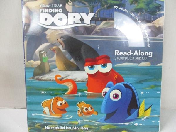 【書寶二手書T1/兒童文學_ABR】Finding Dory_Francis, Suzanne/ Disney Storybook Art Team (ILT)