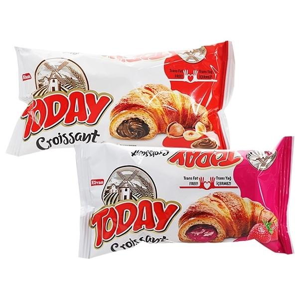 土耳其 Today 可頌麵包(單顆45g) 巧克力/草莓 款式可選【小三美日】