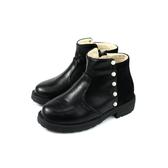 HABU 靴子 短靴 黑色 童鞋 CX41-BK no020