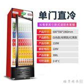嘉鑫寶飲料展示櫃冷藏保鮮啤酒冷飲櫃立式商用冰箱單雙三門冰櫃igo  酷男精品館