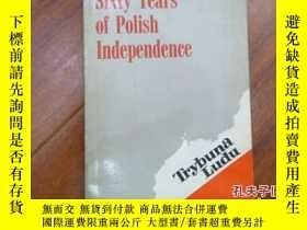 二手書博民逛書店《sisty罕見yeas of polish independe