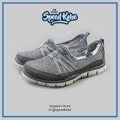 Skechers 健走鞋 Gratis Ture 麻灰 緞帶 繃帶 懶人 女 22762CCL 【Speedkobe】
