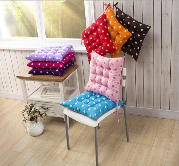 椅墊   可愛糖果點點椅墊 【ZMW006】-收納女王