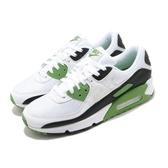 Nike 休閒鞋 Air Max 90 白 綠 男鞋 復古慢跑鞋 氣墊 運動鞋 【ACS】 CT4352-102