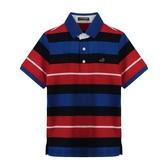 『小鱷魚童裝』經典條紋polo衫(10號~20號)533106