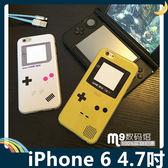 iPhone 6/6s 4.7吋 掌上機保護套 軟殼 GB復古經典電玩 糖果色亮面 全包款 矽膠套 手機套 手機殼