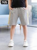 男童短裤 左西男童短褲夏裝2021新款 兒童褲子休閒運動褲純棉中大童韓版潮