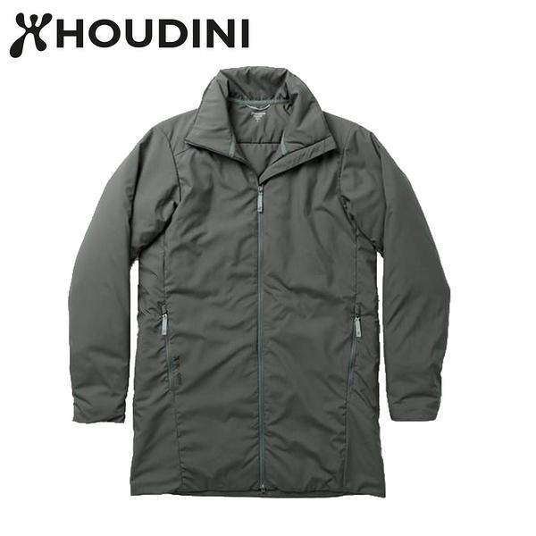瑞典【Houdini】M`s Add-in Jacket 男款化纖保暖長板夾克 粿印綠