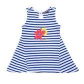 『小鱷魚童裝』貼鑽條紋T恤(02號~10號)369450
