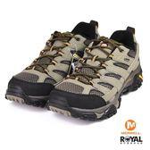 MERRELL 新竹皇家 MOAB 2 GTX 咖啡灰色 皮質 網布 運動鞋 男款 NO.B0162
