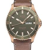 MIDO 美度 Ocean Star 海洋之星潛水腕錶(M0264303609100)玫瑰金/42mm