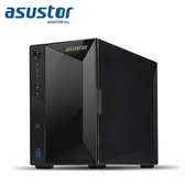 ASUSTOR華芸 AS4002T 2Bay NAS網路儲存伺服器