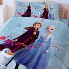 床包 / 雙人【冰雪奇緣-秋日之森】含兩件枕套 高密度磨毛 戀家小舖台灣製