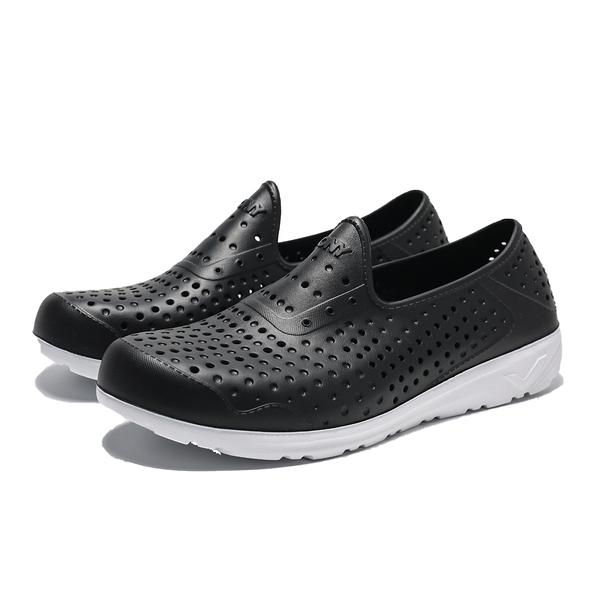 PONY TROPIC 黑白 防水 水鞋 洞洞鞋 中童(布魯克林)2019/5月 92K1SA05BK