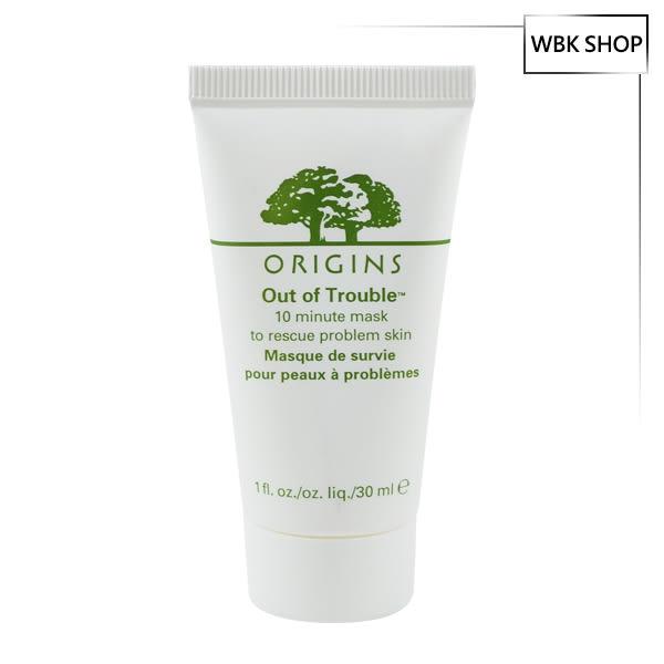 Origins 品木宣言 奇蹟抗痘面膜 30ml 1入 - WBK SHOP