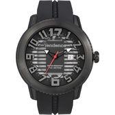 Tendence 天勢 圓弧系列透視手錶-黑/47mm TY013002