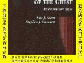 二手書博民逛書店High罕見Resolution CT of the Chest: A Comprehensive Atlas-胸