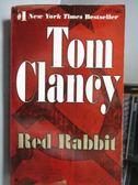 【書寶二手書T6/原文小說_ORF】Red Rabbit_Tom Clancy