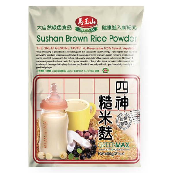 【馬玉山】四神糙米麩600g