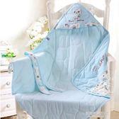 新生兒包被夏季薄款包巾初生嬰兒寶寶抱毯小被子春秋純棉抱被用品  凱斯盾數位3c