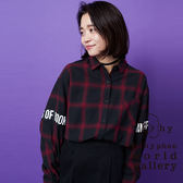 ❖ Hot item ❖ 格紋口袋長袖襯衫 - E hyphen world gallery