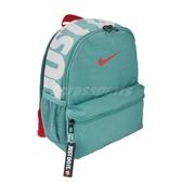 Nike 後背包 Brasilia Just Do It 綠 白 兒童款 男女款 出遊 運動休閒 【ACS】 BA5559-309