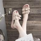 厚底拖鞋拖鞋女士外穿2020夏季新款網紅時尚百搭外出厚底涼拖鞋ins潮夏天 伊蒂斯
