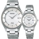 SEIKO 精工 SPIRIT SMART 鈦金屬對錶 V157-0BX0S+V137-0CS0S(SBPX101J+STPX041J)