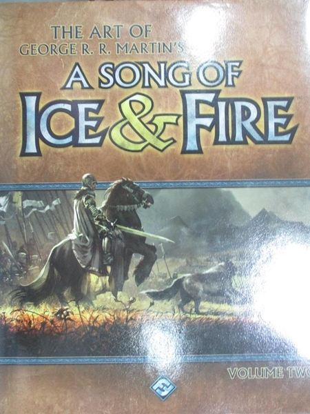 【書寶二手書T1/藝術_QXC】The Art of George R. R. Martin s a Song of Ice & Fire