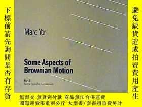 二手書博民逛書店some罕見Aspects of Brownian Motion