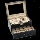 歐式皮質手錶盒收納盒