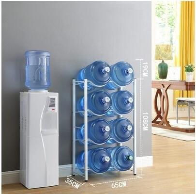 新款水桶架桶裝水支架陳列架倒置純淨水桶放置架收納架【8桶】