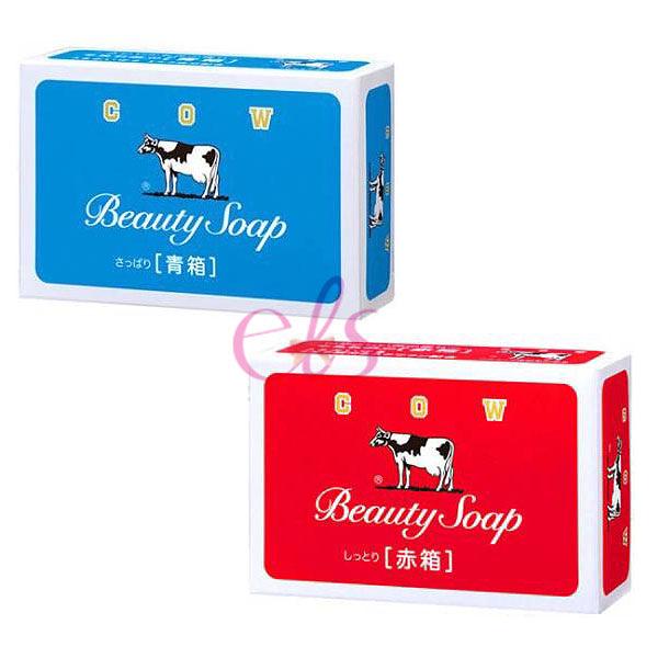 牛乳石鹼 COW 牛乳香皂 1入裝 玫瑰滋潤型/茉莉清爽型 兩款供選 艾莉莎ELS