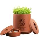 土陶豆芽罐大容量發豆芽機家用全自動紫砂豆...