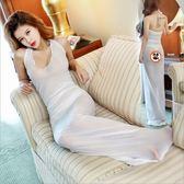 情趣睡衣蕾絲洋裝性感睡衣女夏透明薄紗火辣長裙成人情趣內衣吊帶睡裙騷 台北日光