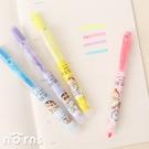 日貨蠟筆小新自動螢光筆 晚安系列- Norns Crayon Shinchan 正版授權 日本文具 免蓋 按壓式 睡衣圖案