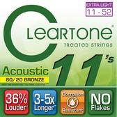 【敦煌樂器】CLEARTONE 7611 民謠吉他套弦 11-52