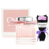 Chloe 粉漾玫瑰女性淡香水(50ml) 贈浪漫玫瑰香皂花束-情人節限定組