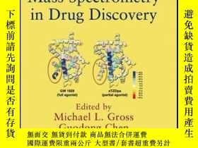 二手書博民逛書店Protein罕見and Peptide Mass Spectrometry in Drug Discovery奇