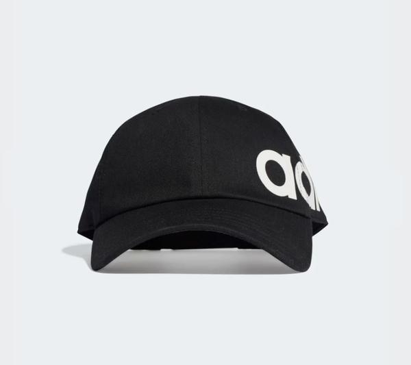 Adidas LINEAR BOLD BASEBALL HAT 黑色經典帽-NO.ED0318