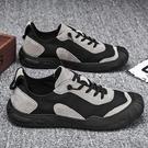 勞保鞋 新款飛行員勞保防水休閒布鞋百搭帆布潮鞋懶人一腳蹬 【618特惠】