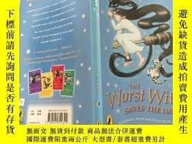 二手書博民逛書店The罕見Worst Witch Saves the Day:最壞的女巫拯救了這一天Y200392