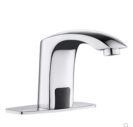 自動感應水龍頭智能洗手器水龍頭單冷冷熱全銅臺盆【首圖款】