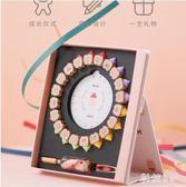 兒童乳牙盒紀念盒創意實木男女孩牙齒收納瓶寶寶換牙胎毛收藏盒子JA6994『科炫3C』