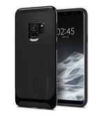 [富廉網] 【Spigen】Galaxy S9 Neo Hybrid 複合式邊框保護殼 閃耀黑/北極銀/蓓蕾粉